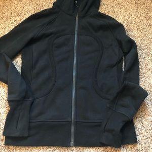 Lululemon zip up jacket - inside is fleece